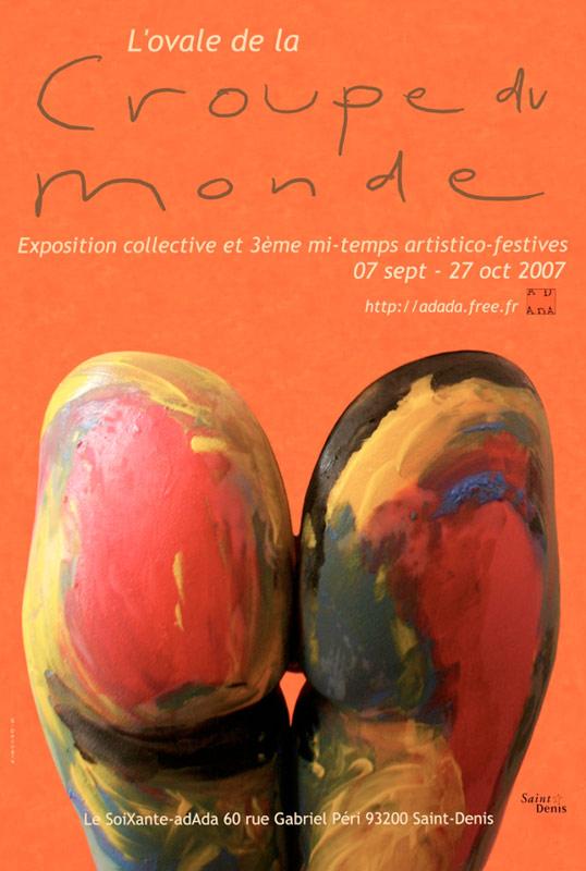 l'affiche de la cRoupe 07 par Sylvie Decugis