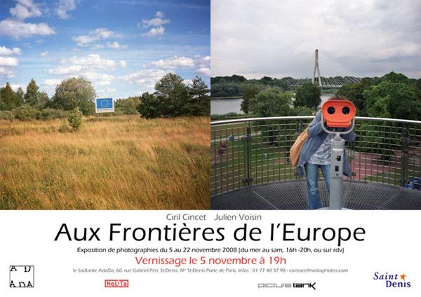 Exposition de photographies de Ciril Cincet et Julien Voisin