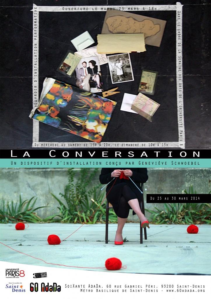 La Conversation affiche def A3