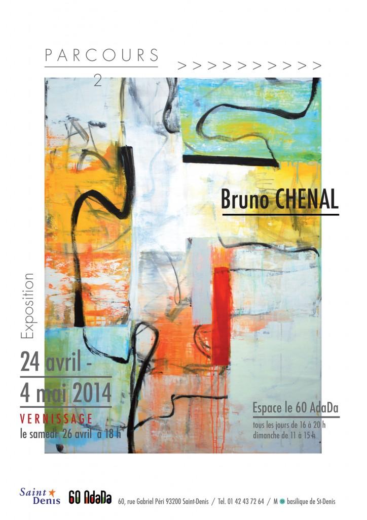 Bruno Chenal Parcours 2 affiche