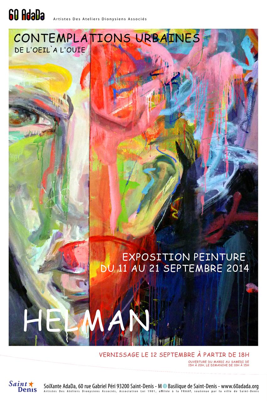 Ella Helman affiche bleue web