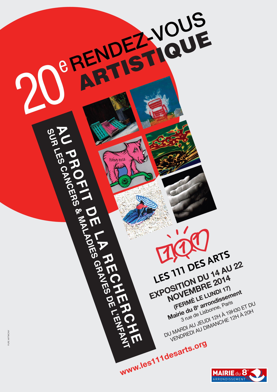 111-des-arts-affiche