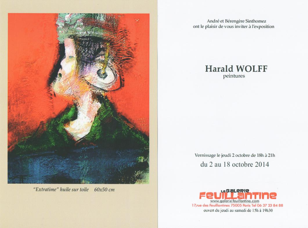 Harald-Wolff-Galerie-Feuillantine