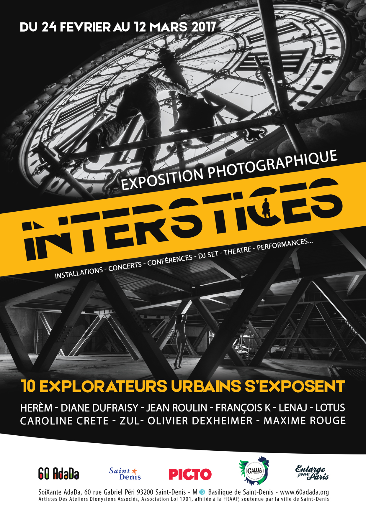 Affiche Interstices A6