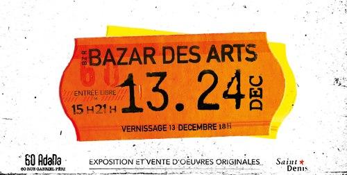 Bazar des arts : les artistes font leur souk
