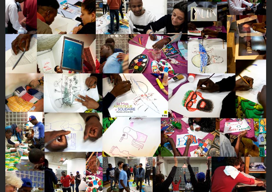 Un mois artistique et solidaire au 60 Adada